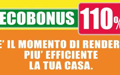 Ecobonus 110%: rendi efficiente la tua casa!