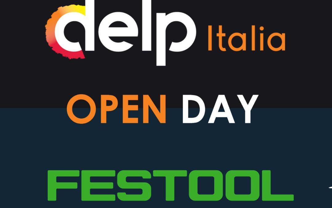 OPEN DAY Festool nei negozi DELPITALIA